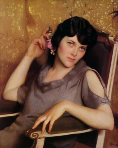 Pretty Girl by William McGregor Paxton
