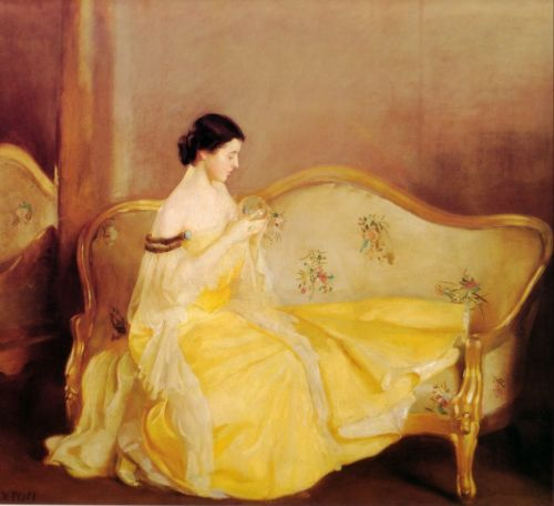 The Crystal by William McGregor Paxton