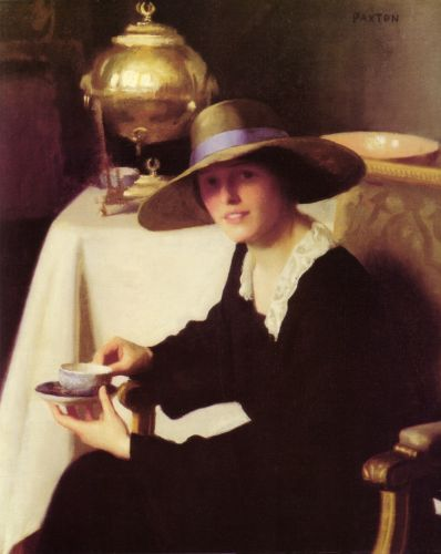 The Samovar by William McGregor Paxton