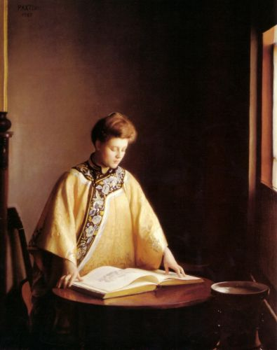 The Yellow Jacket by William McGregor Paxton