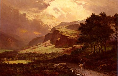 Langdale, Westmorland by Sidney Richard Percy