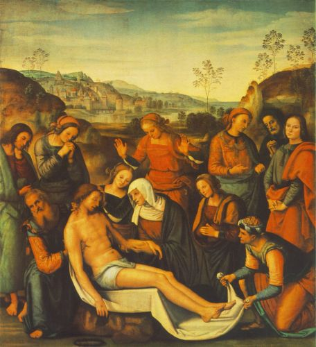 Deposition by Pietro Perugino