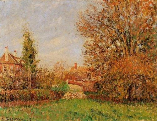 Autumn in Eragny, 1899 by Camille Pissarro
