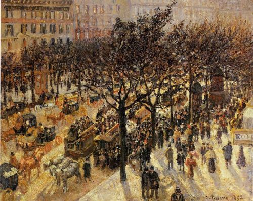 Boulevard des Italiens: Afternoon, 1897 by Camille Pissarro