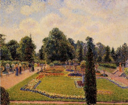 Kew Gardens: Path between the Pond and the Palm House, 1892 by Camille Pissarro