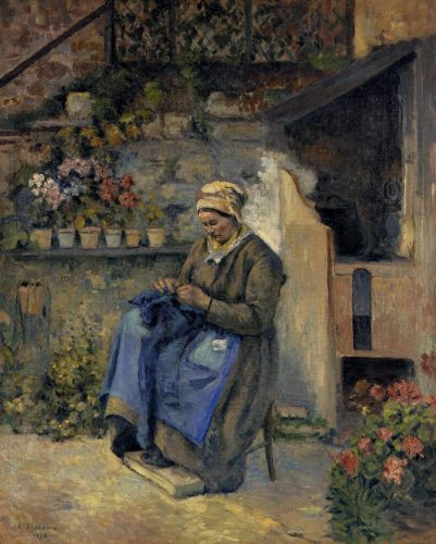 Mother Jolly, 1874 by Camille Pissarro