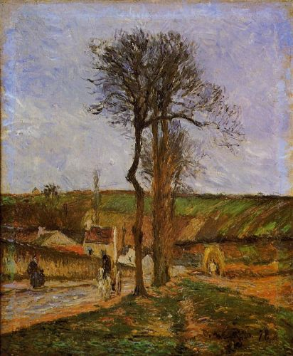 Near Pointoise, 1878 by Camille Pissarro