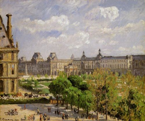 Place du Carrousel, the Tuileries Gardens, 1900 by Camille Pissarro