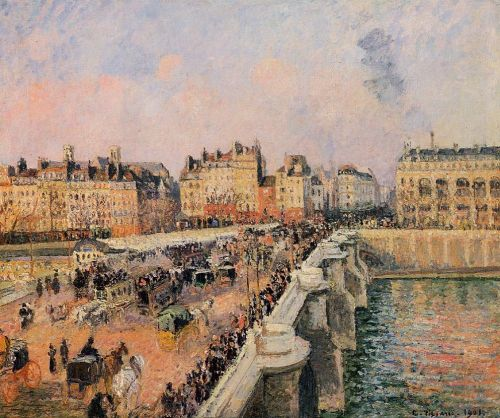 Pont-Neuf, 1901 by Camille Pissarro