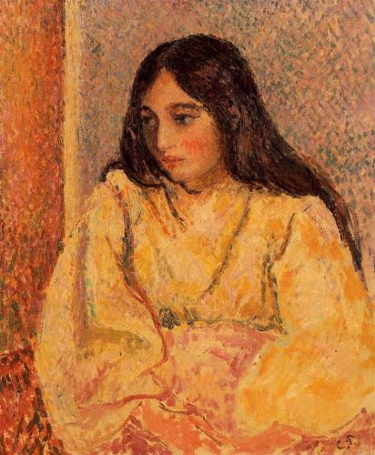Portrait of Jeanne, the Artist's Daughter, 1892 by Camille Pissarro