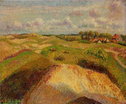 The Dunes at Knocke, Belgium, 1902 by Camille Pissarro