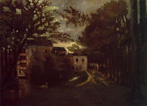 The Mill at La Roche-Guyon by Camille Pissarro