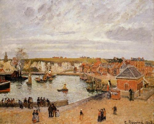 The Port of Dieppe, 1902 by Camille Pissarro