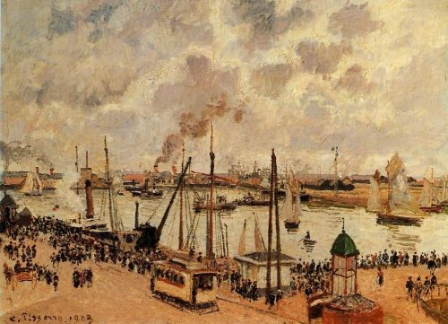 The Port of Le Havre, 1903 by Camille Pissarro