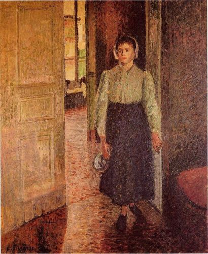 The Young Maid, 1896 by Camille Pissarro