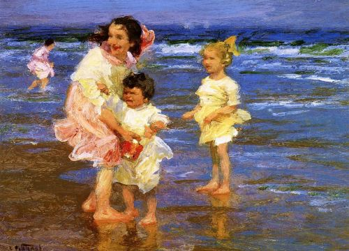 Cold Feet by Edward Potthast