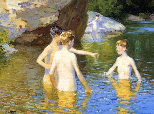 In the Summertime by Edward Potthast