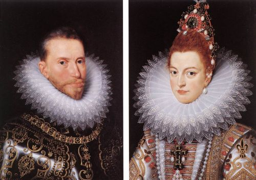 Archdukes Albert and Isabella by Frans Il Giovane Pourbus