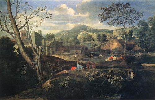 Ideal Landscape by Nicolas Poussin
