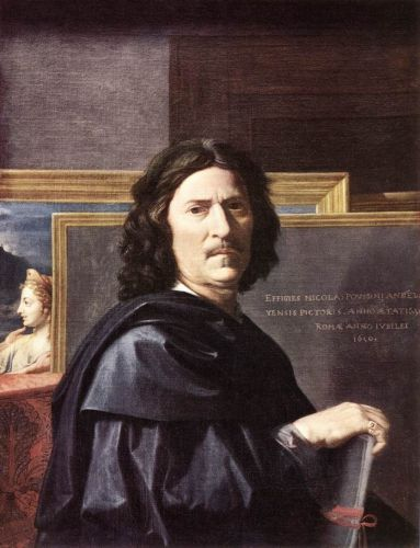 Self-Portrait by Nicolas Poussin