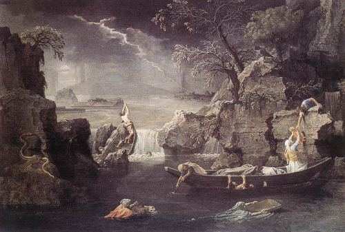 Winter by Nicolas Poussin