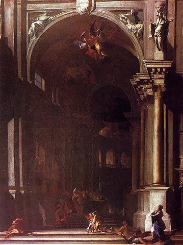 Presentation of Jesus in the Temple by Andrea Pozzo