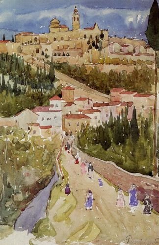 Assisi by Maurice Prendergast