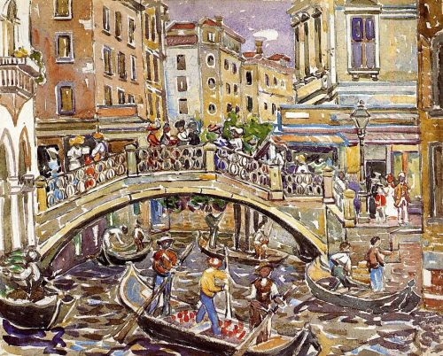 Canal by Maurice Prendergast
