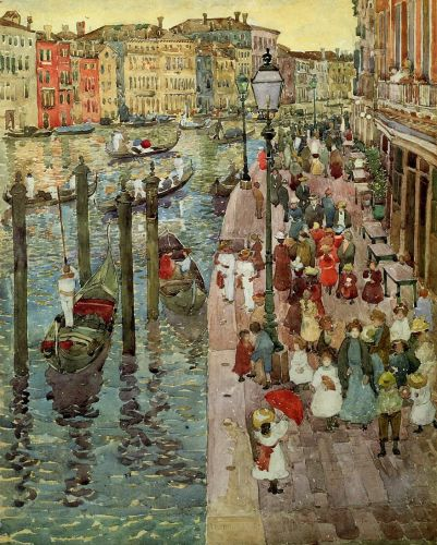 Grand Canal, Venice by Maurice Prendergast