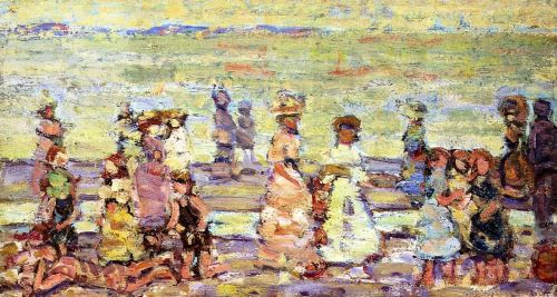 Maine Beach by Maurice Prendergast