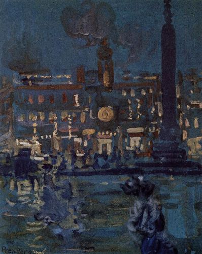 Paris by Maurice Prendergast