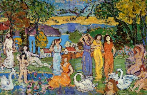 Picnic by Maurice Prendergast