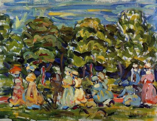 Summer in the Park by Maurice Prendergast