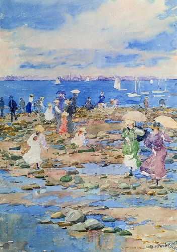Summer Visitors by Maurice Prendergast
