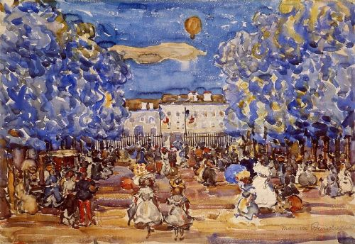 The Balloon by Maurice Prendergast