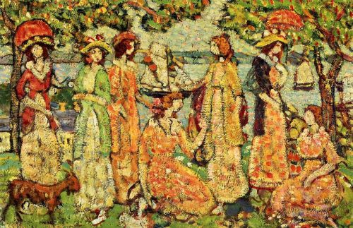 The Idlers by Maurice Prendergast