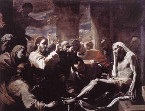 The Raising of Lazarus by Mattia Preti