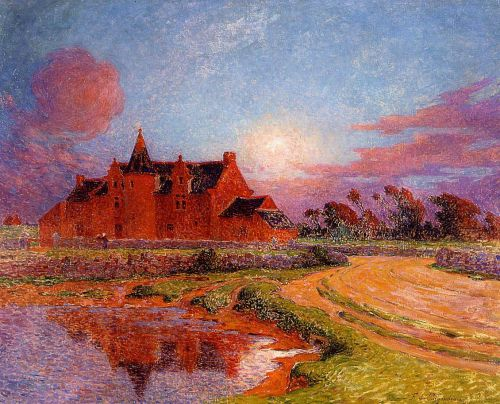 Moonlight over Kervaudu by Ferdinand Loyen Du Puigaudeau