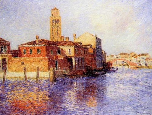 View of Venice by Ferdinand Loyen Du Puigaudeau