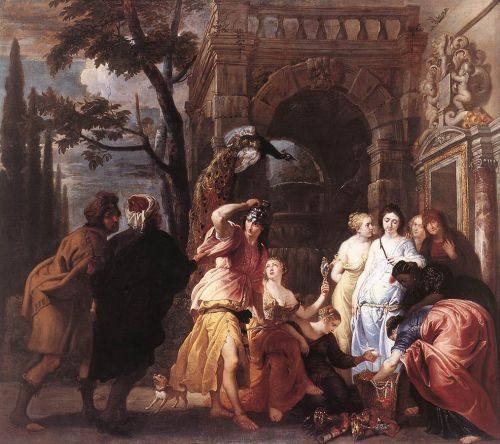 Achilles among the Daughters of Lycomedes by Erasmus Quellinus