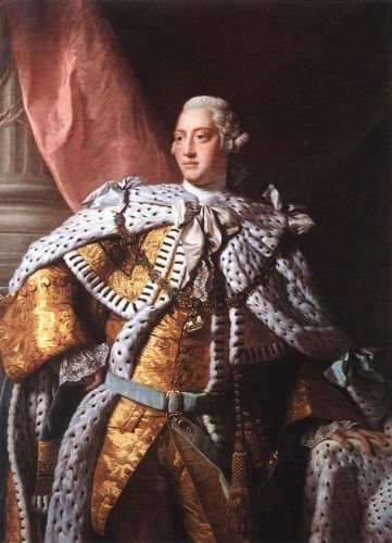 Portrait of George III by Allan Ramsay