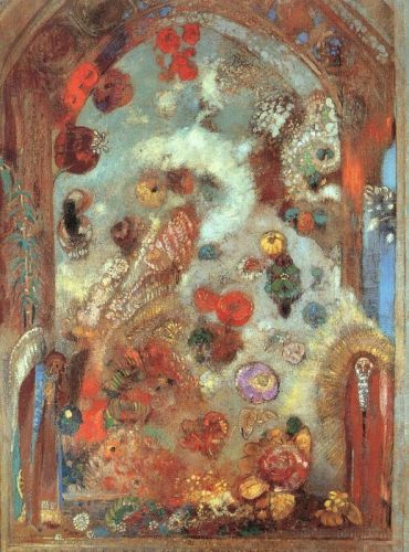 Allegory by Odilon Redon