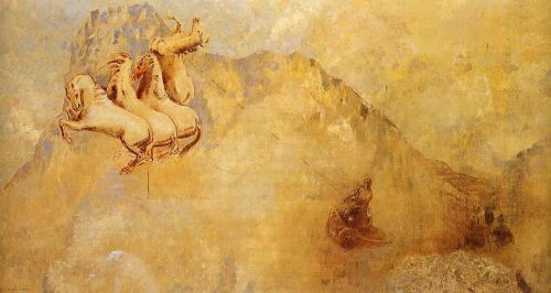 Apollo's Chariot by Odilon Redon