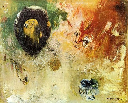 Fantastical by Odilon Redon