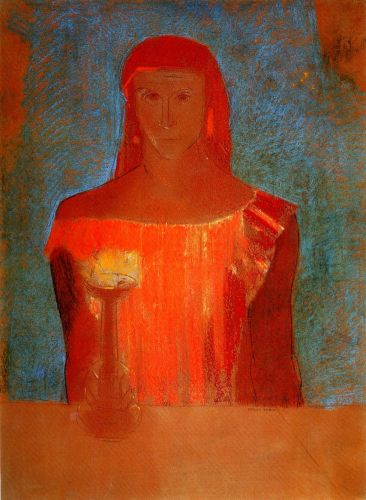 Lady Macbeth by Odilon Redon
