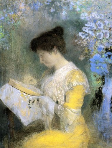 Portrait of Madame Arthur Fontaine by Odilon Redon