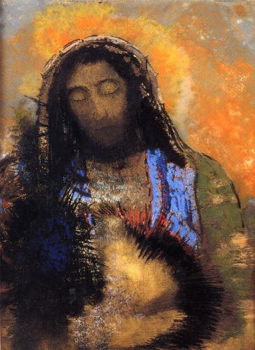 The Sacred Heart by Odilon Redon