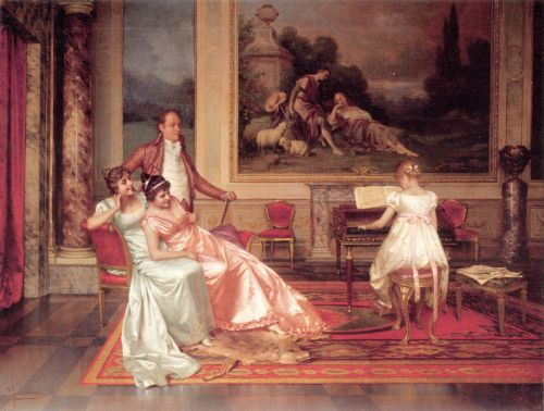 The Piano Recital by Vittorio Reggianini