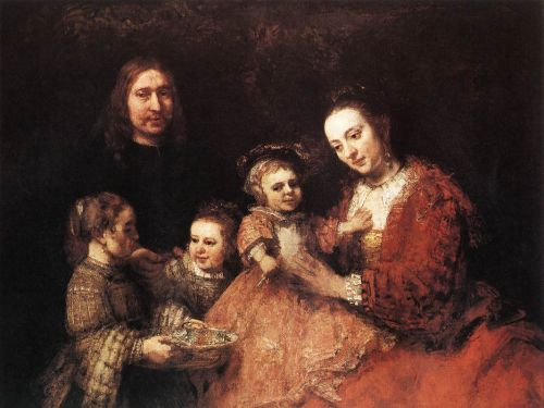 Family Group by Rembrandt van Rijn