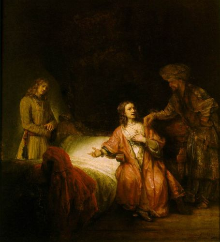 Joseph Accused by Potiphar's Wife by Rembrandt van Rijn